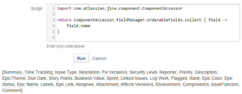 Rocking with Jira's Script Runner